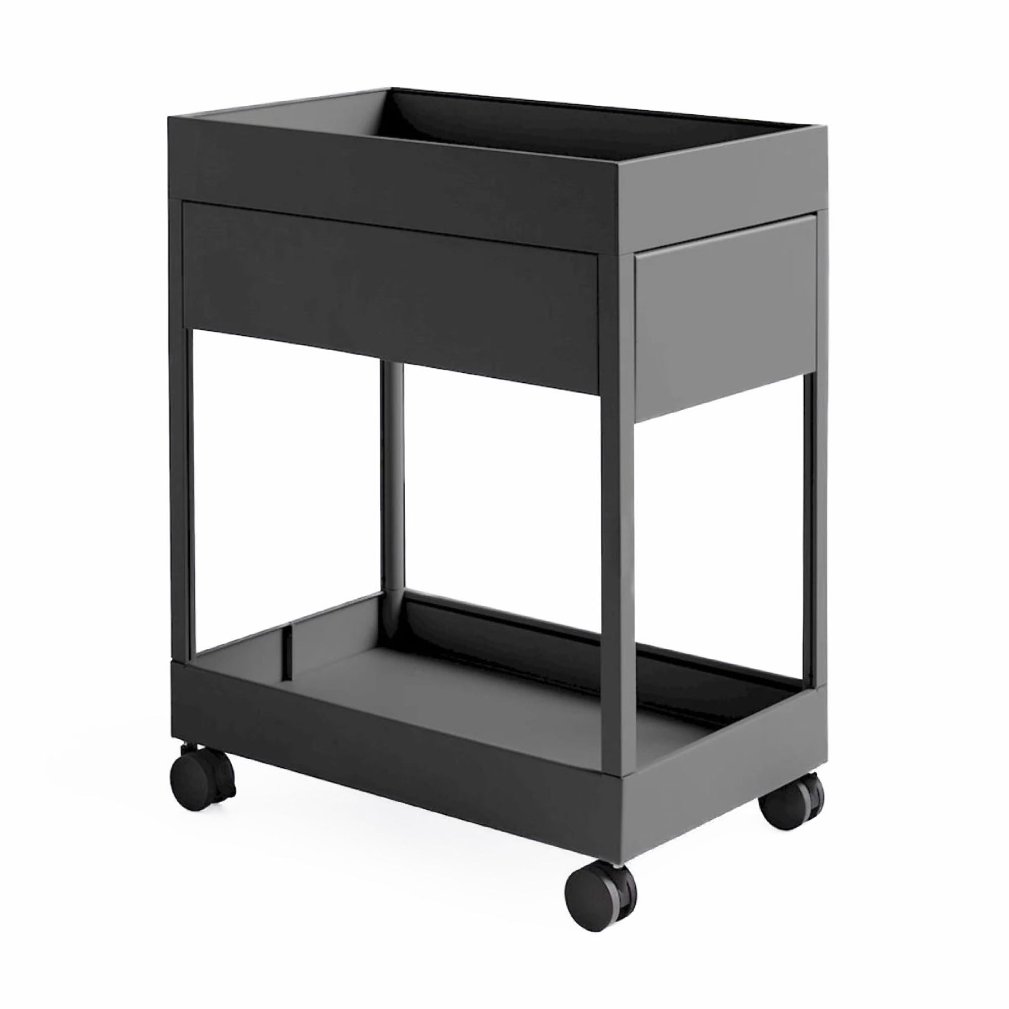 HAY New Order Trolley A , Charcoal