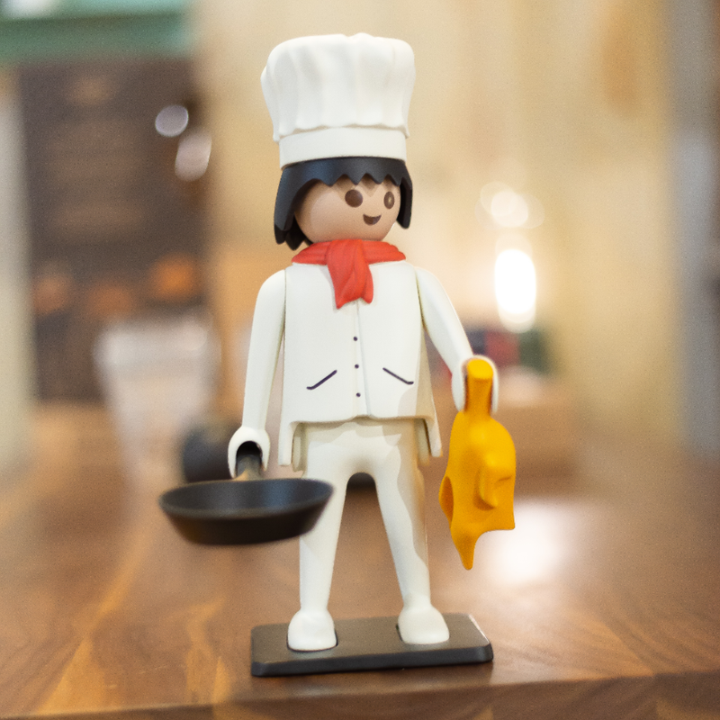 Playmobil Vintage The Chef Figure