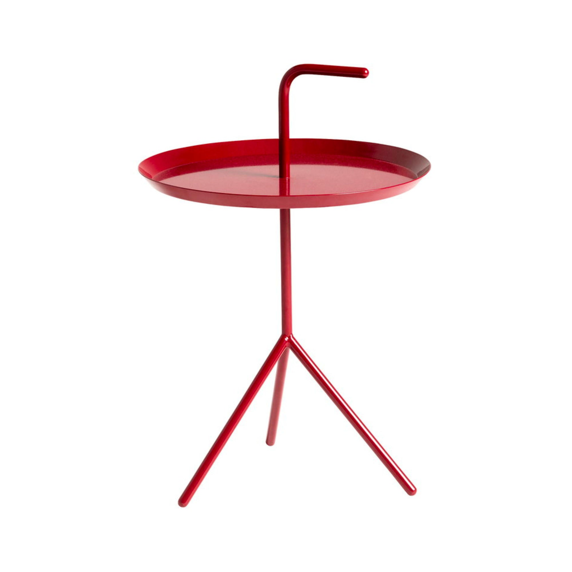 HAY DLM Side Table , Cherry Red High Red