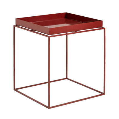 Hay Tray Table Side Table M , Chocolate High Glass