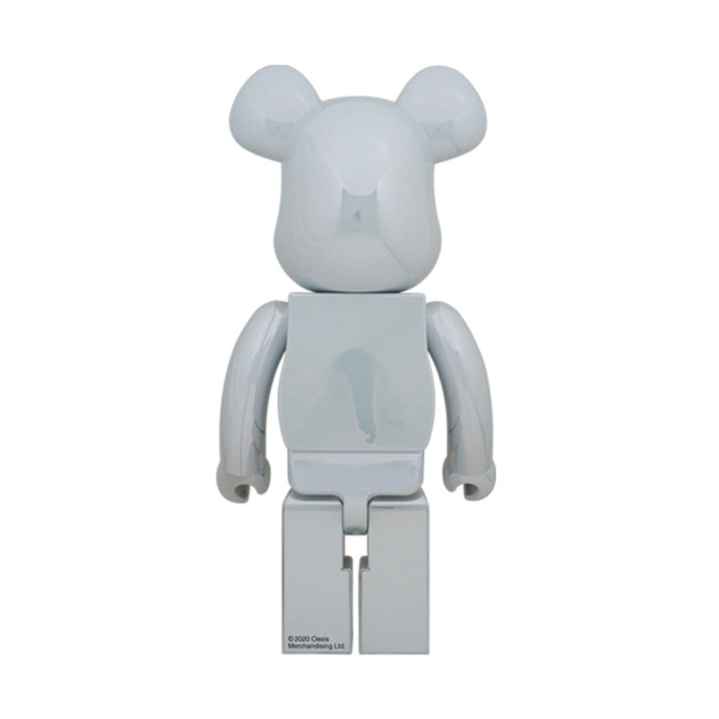 BE@RBRICK Oasis White Chrome 100% & 400% (To be shipped in late Jan 2021)