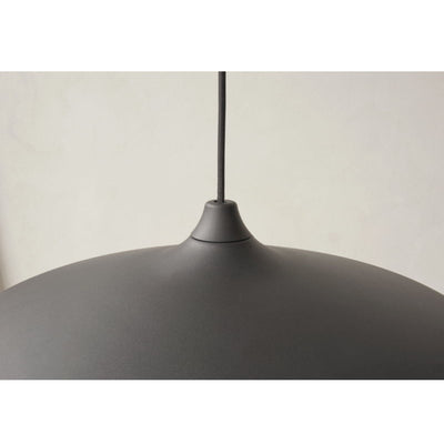 Menu Circular pendant lamp Ø55, black