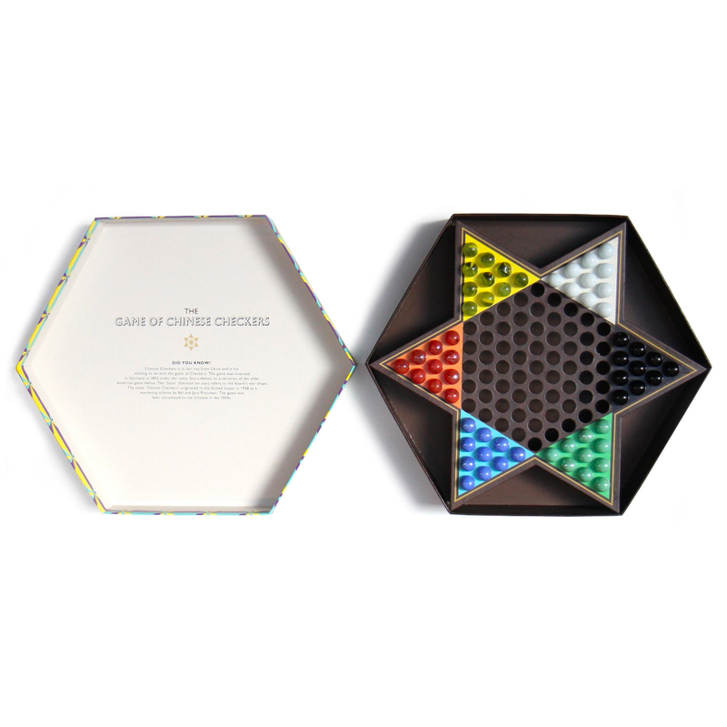 Wild and Wolf Ridley's Chinese Checkers Set