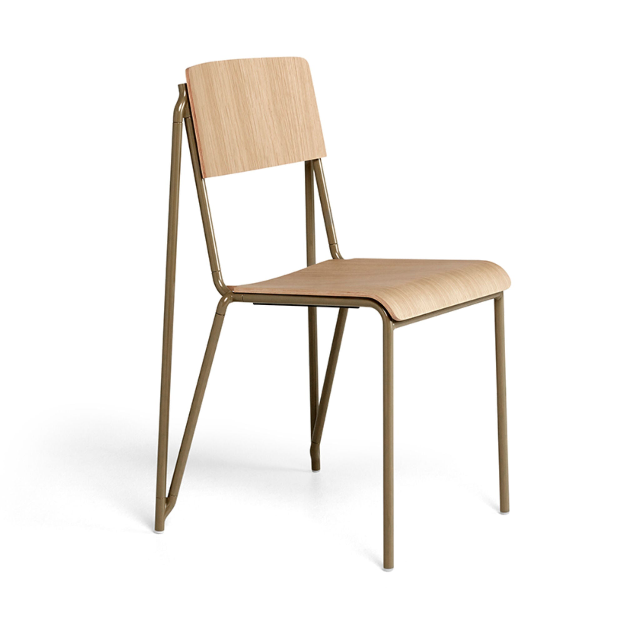 Hay Petit Standard Chair , Clay-Matt Oak