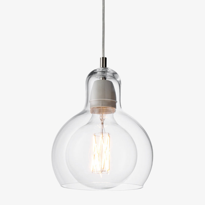 &Tradition SR2 Mega Bulb , clear - pvc cord