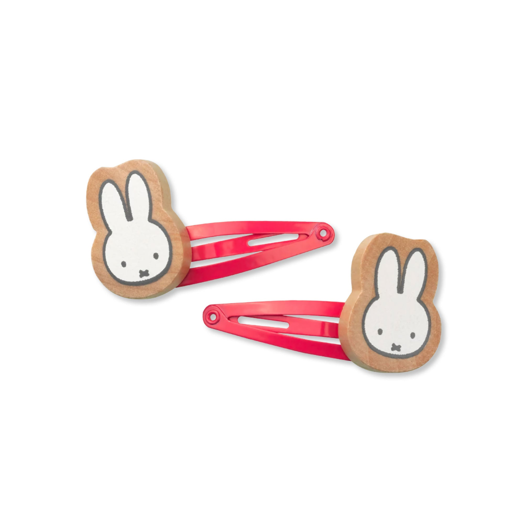 Miffy Hair Clips , Pink