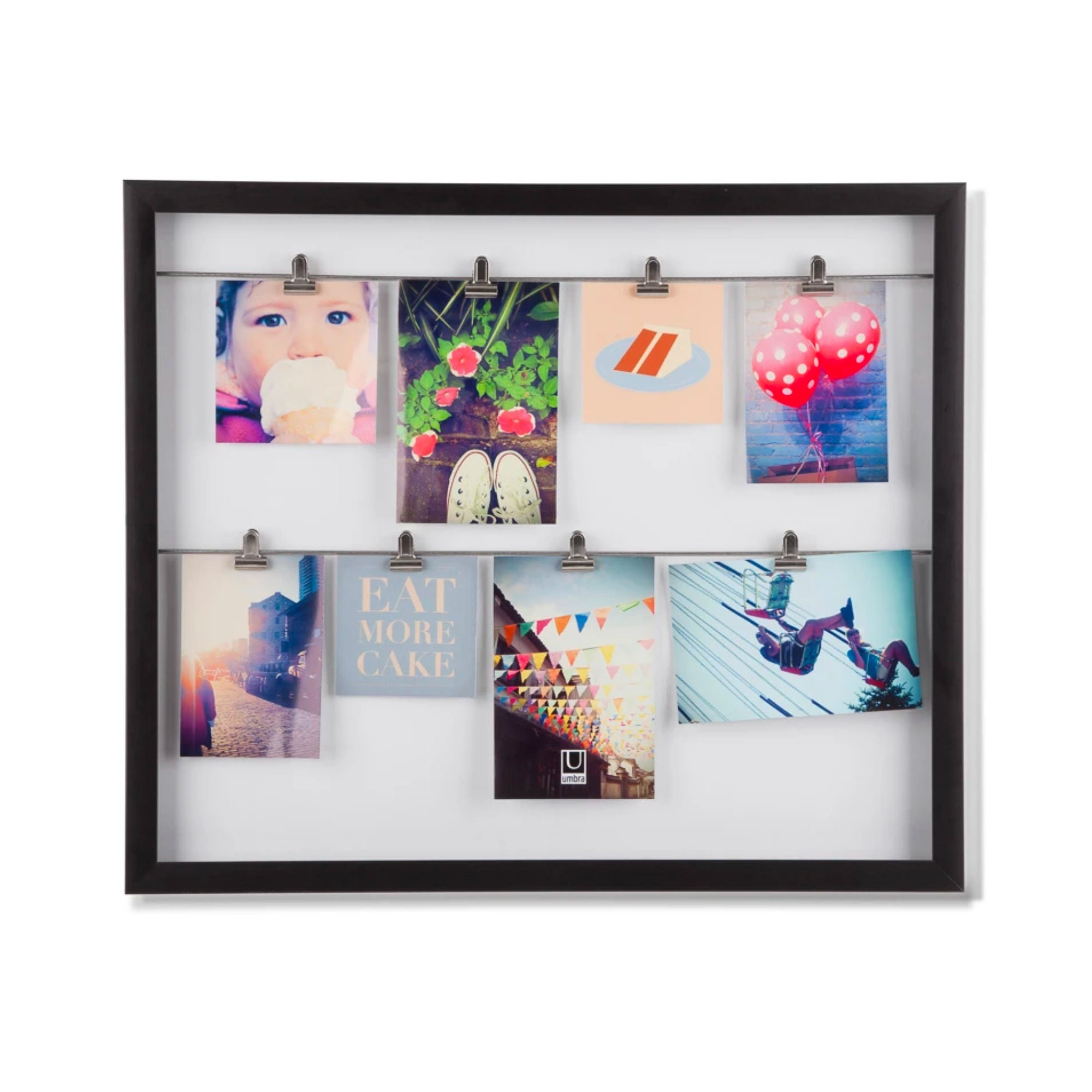 Umbra Clipline Photo Frame , Black