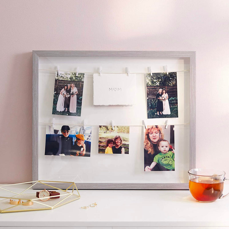 Umbra Clothesline Photo Frame, grey