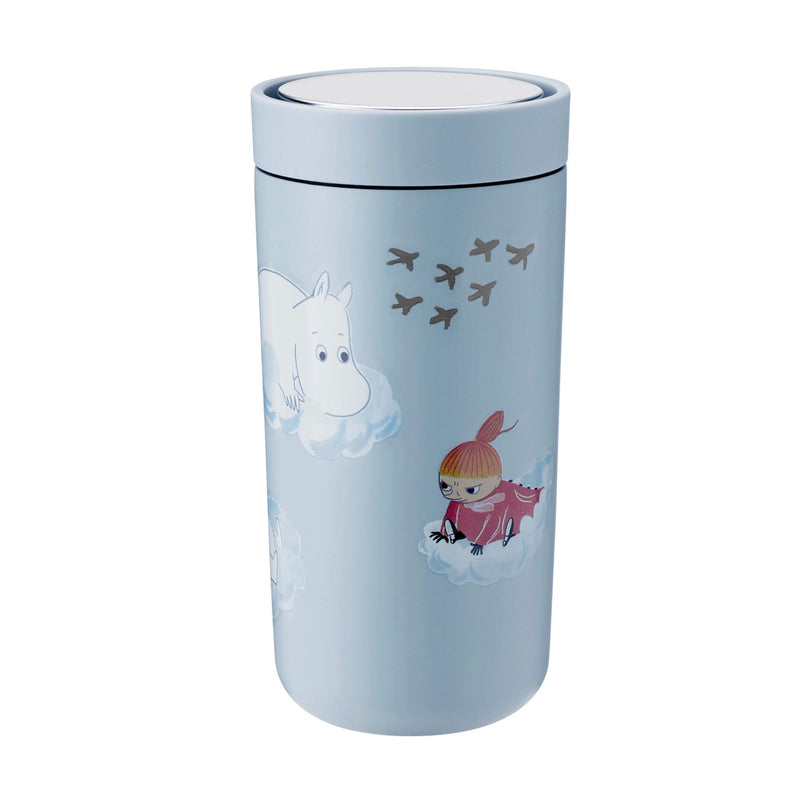 Stelton x  Moomin To-Go-Click thermo cup, sand (400 ml)