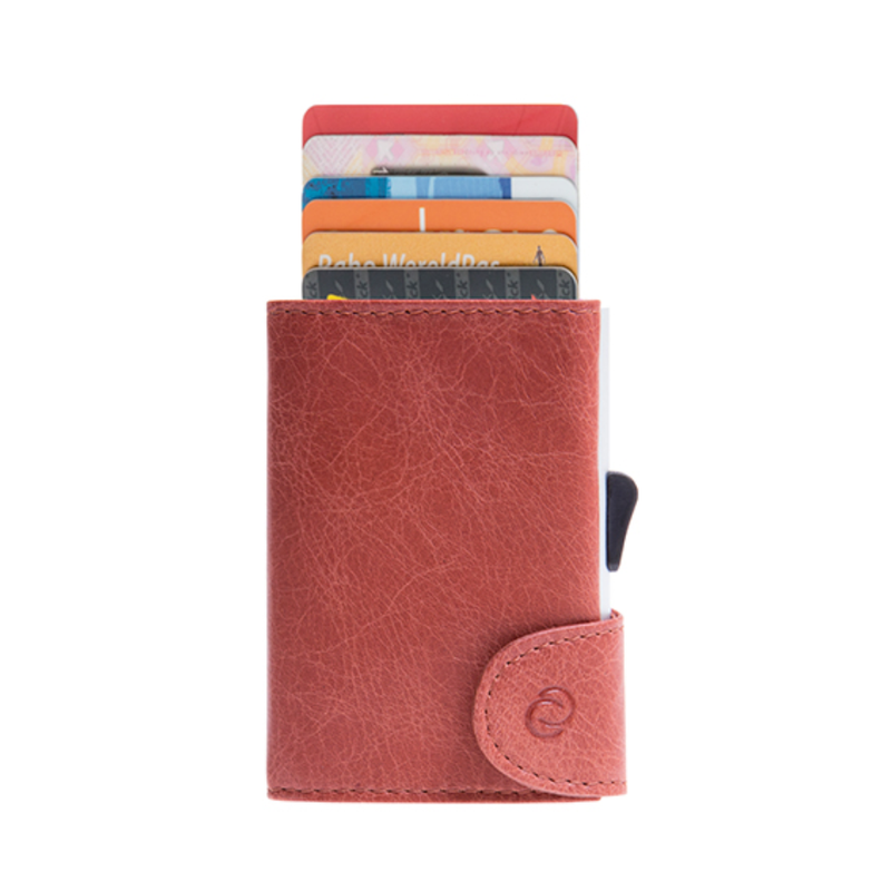 C-Secure RFID Blocking Leather Card-Wallet