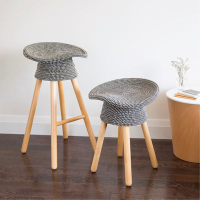 Umbra Coiled counter stool