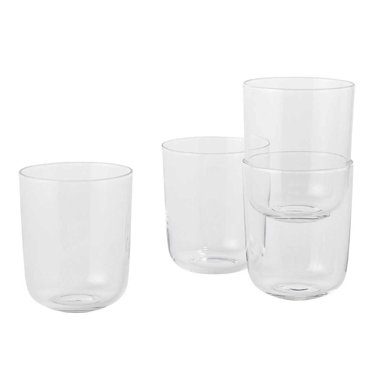 Muuto Corky glasses, set of 4