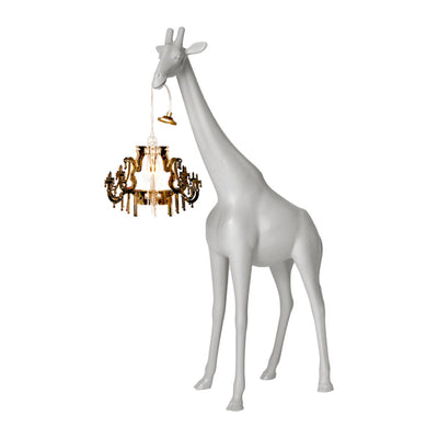 Qeeboo Giraffe In Love Lamp XS , Cold Sand