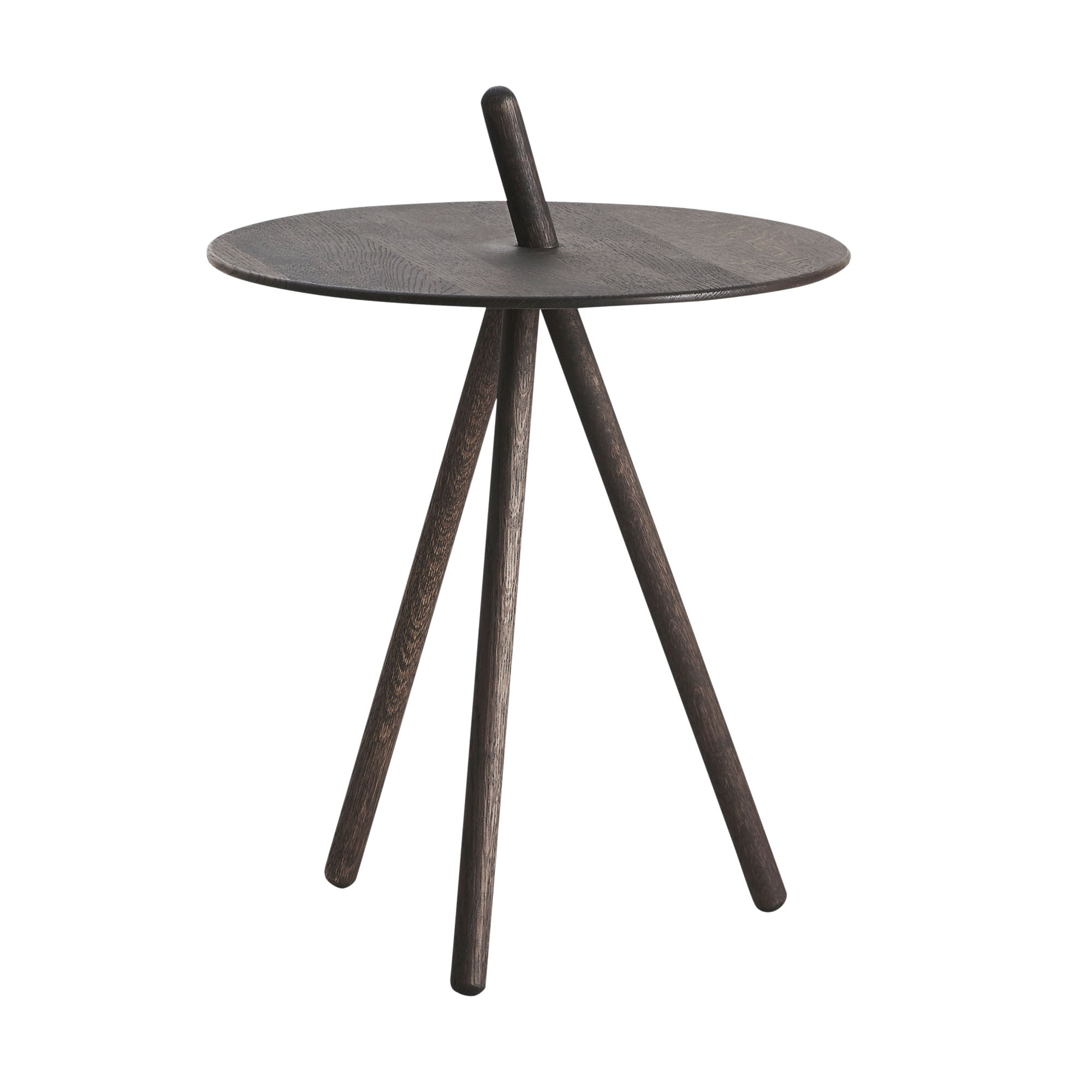 Woud Come Here Side Table , Smoked Oak
