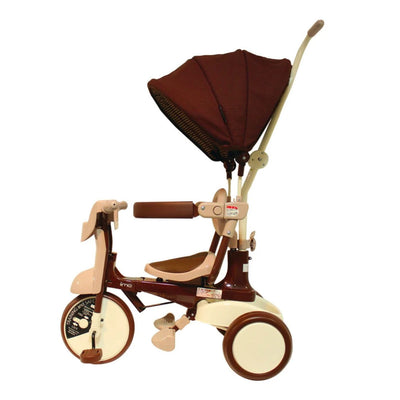 iimo #02 type ss foldable tricycle with canopy