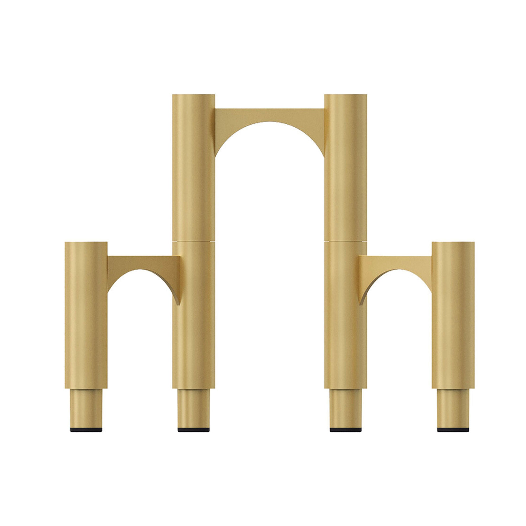 AYTM Compono Candle Holder Set of 3 , Gold