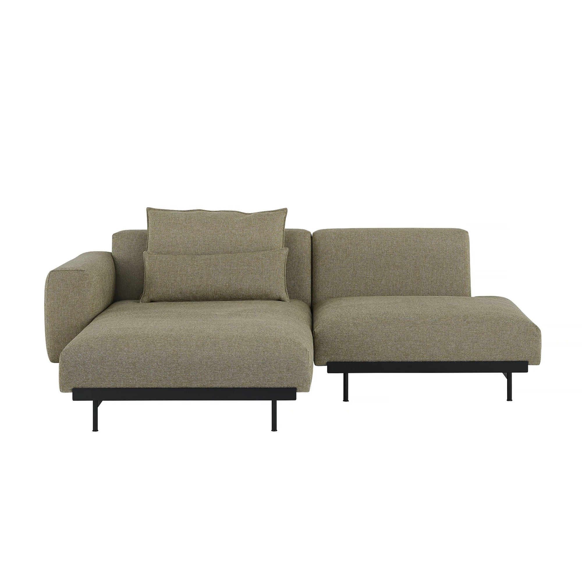 Muuto In Situ Modular Sofa 2-Seater Configuration 6/7 , Clay 15