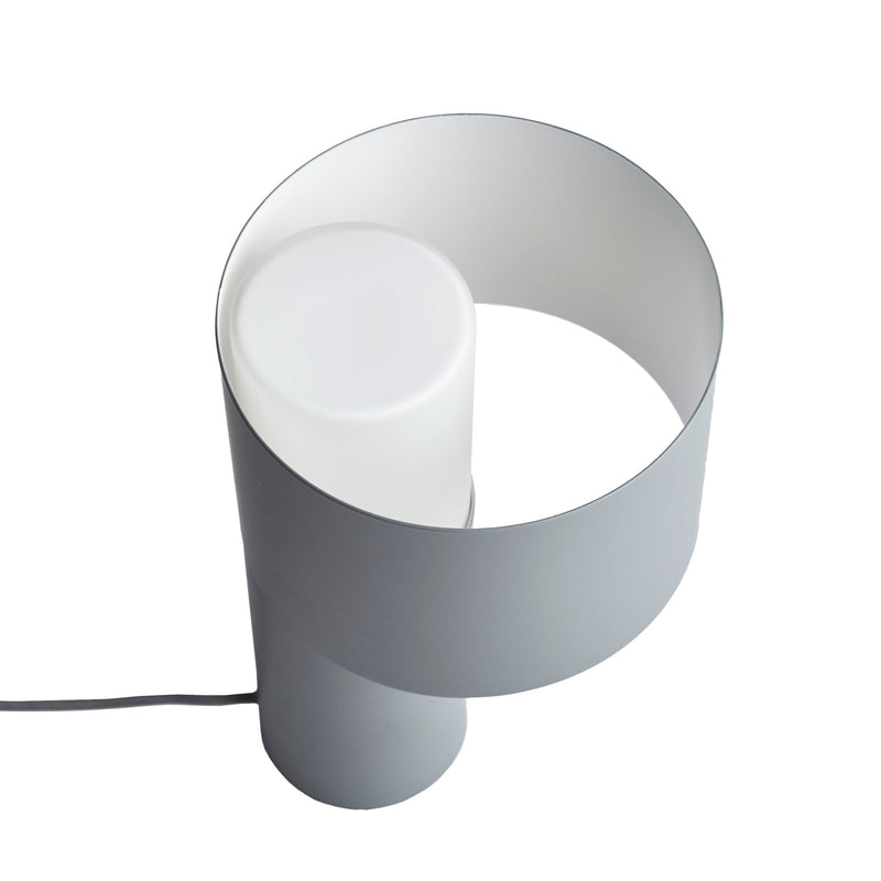 Woud Tangent Table Lamp , Cool Grey