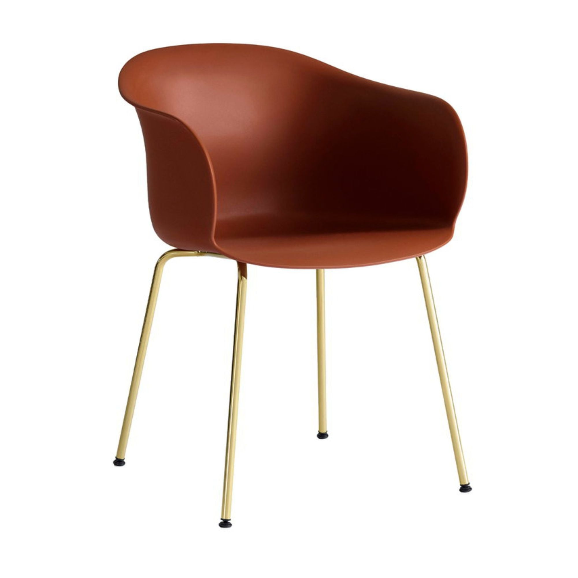 &Tradition JH28 Elefy Chair , Copper Brown - Brass