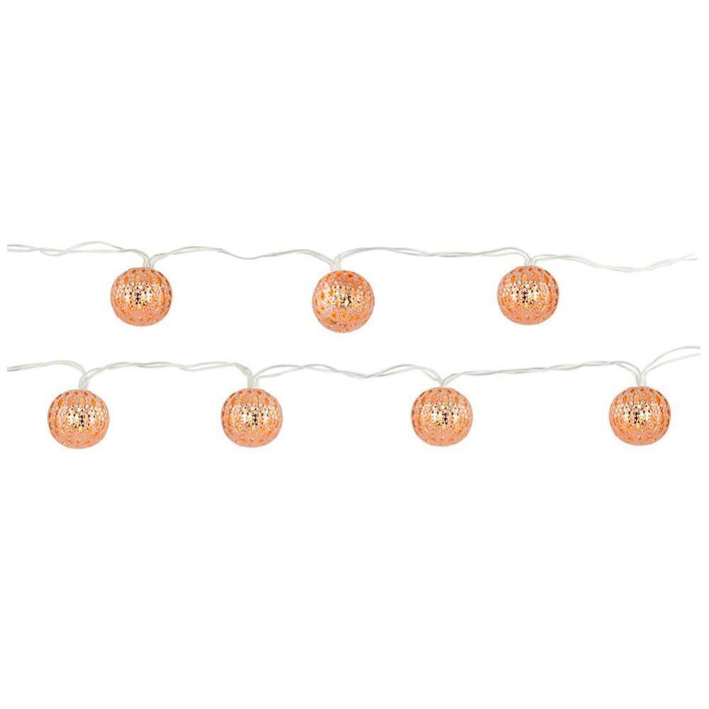 Kikkerland Moroccan Copper String Lights