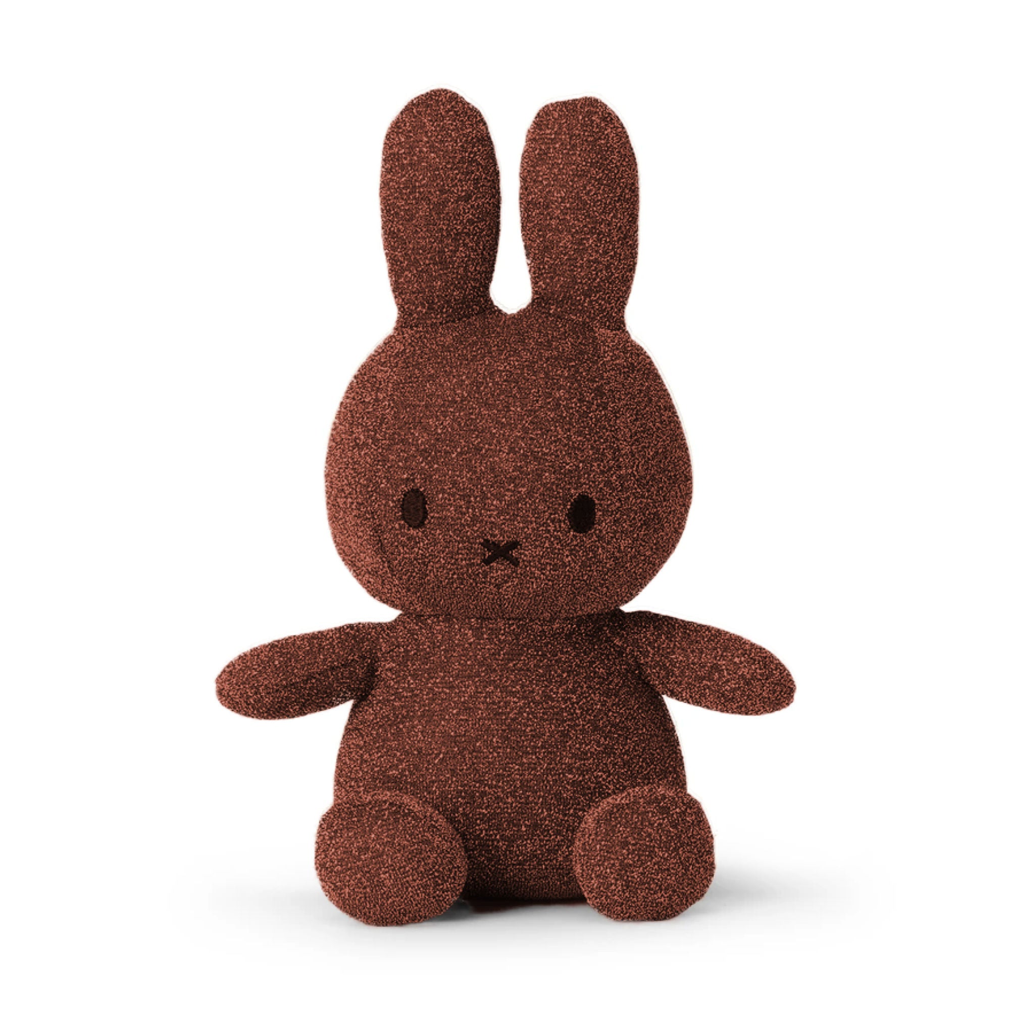 Miffy Sparkle Plush 23cm , copper