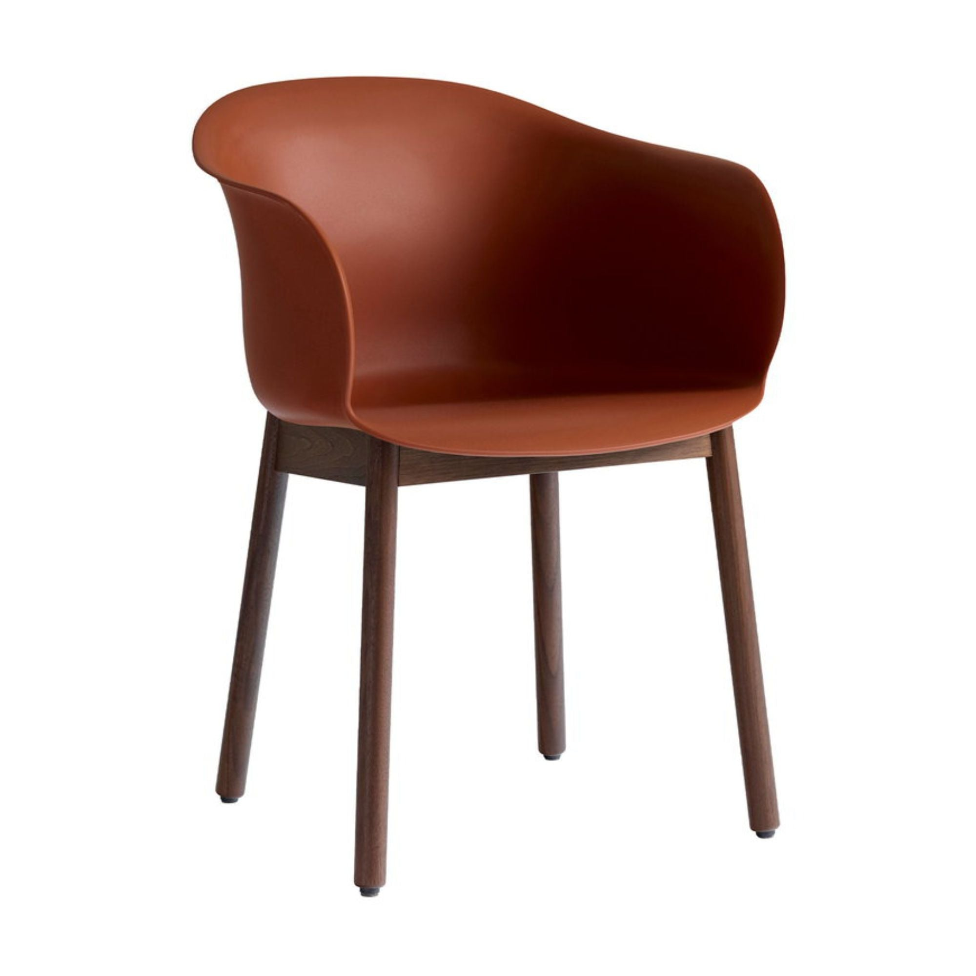 &Tradition JH30 Elefy Chair , Copper Brown - Walnut