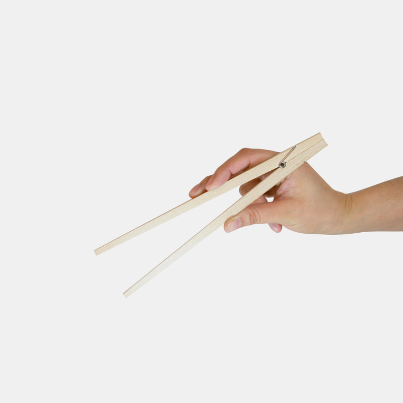 Kikkerland Easy Wooden Chopsticks Set Set of 4