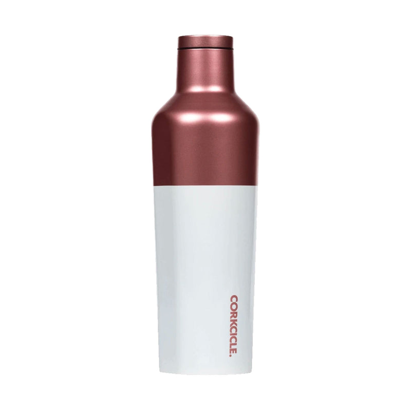 Corkcicle Canteen 16oz , Modern Rose