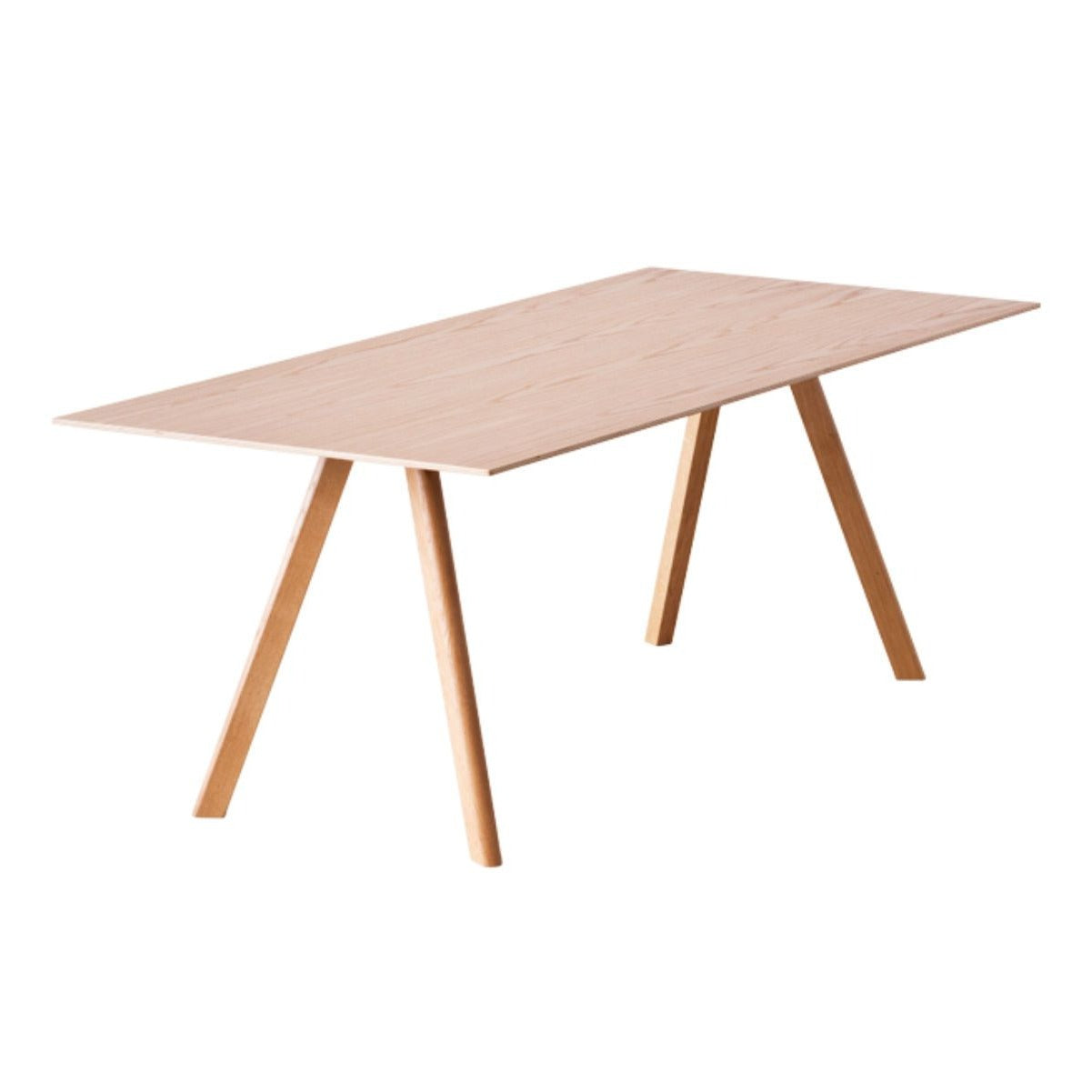 Hay CPH30 table, clear lacquered oak