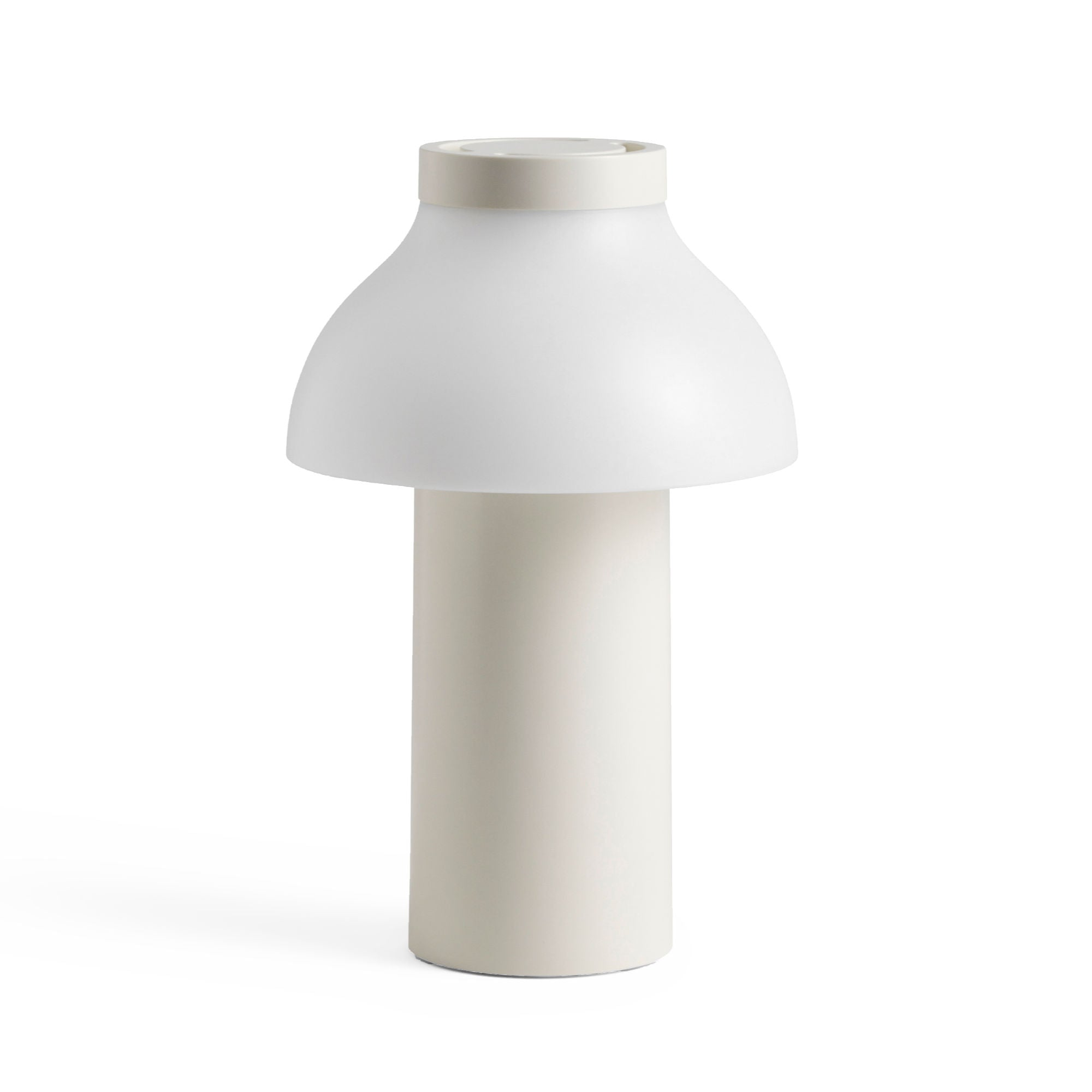 Hay PC Portable lamp, cream white (outdoor)