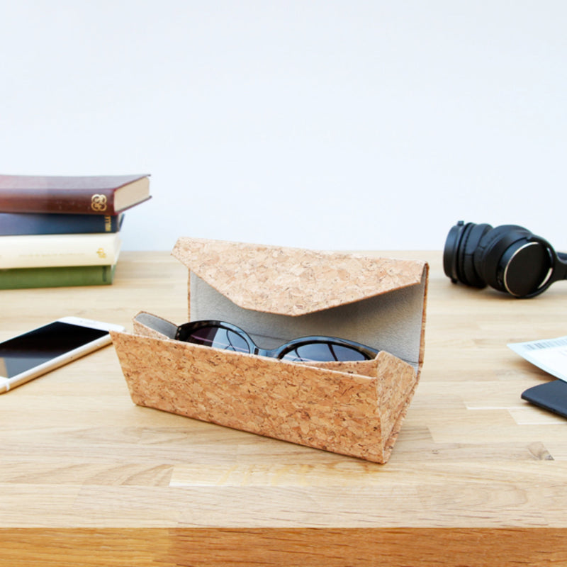 Suck UK Cork Foldable Glass Case