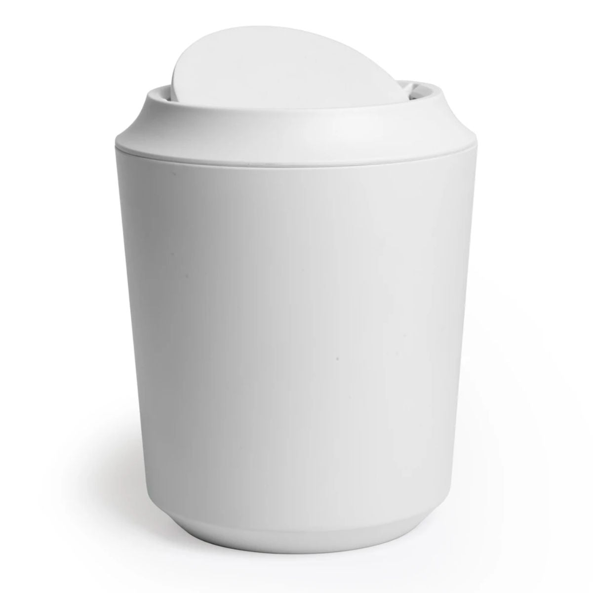 Umbra Corsa Can with lid, 8 litre, white
