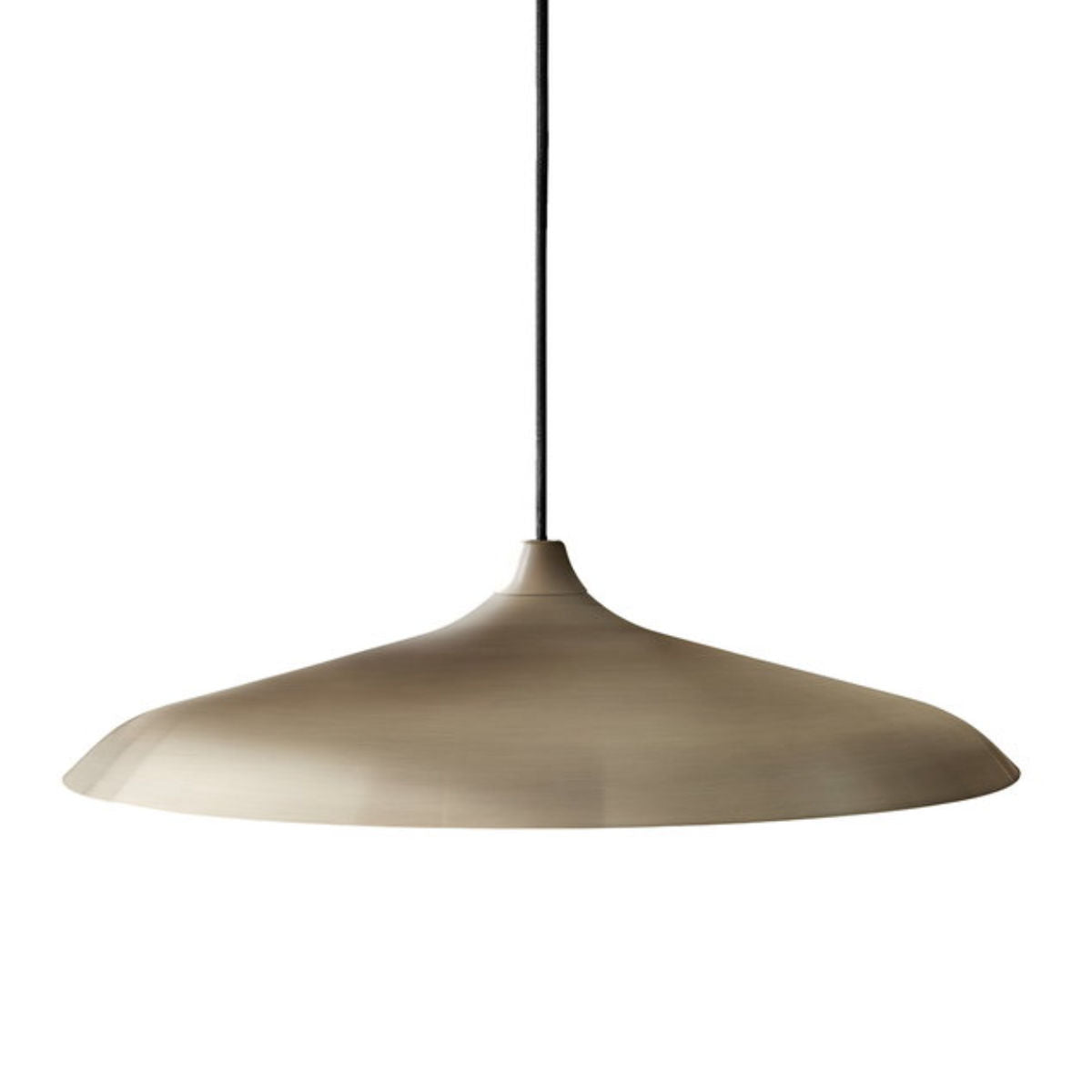 Menu Circular pendant lamp Ø55, brushed bronze