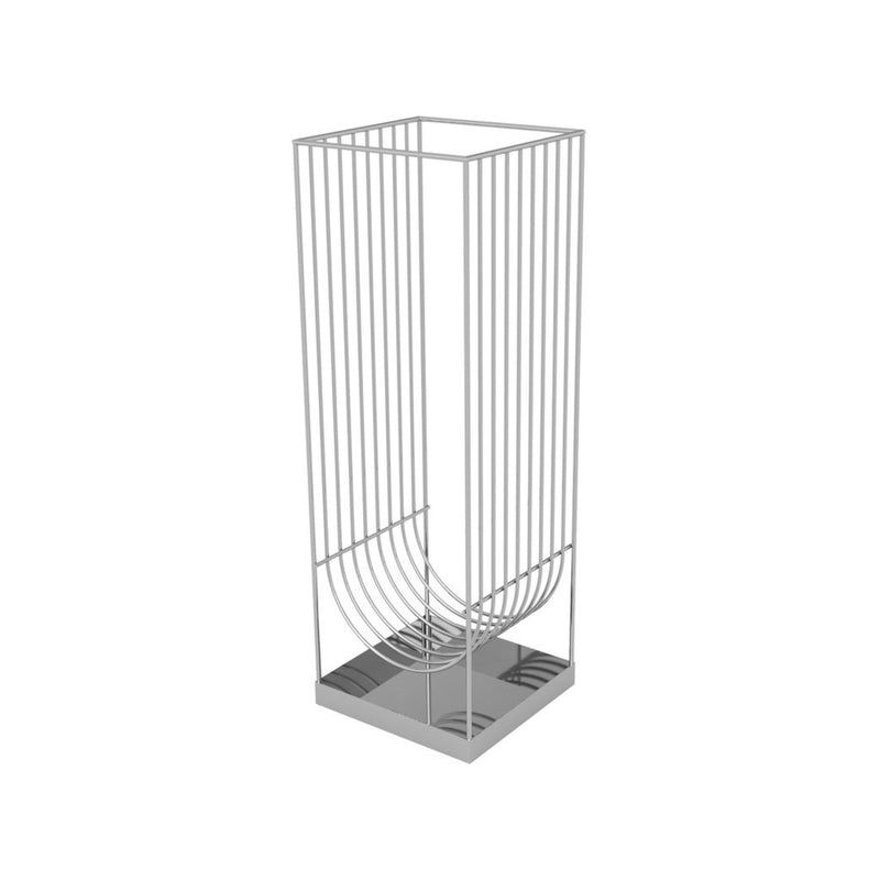 AYTM Curva Umbrella Holder , Silver