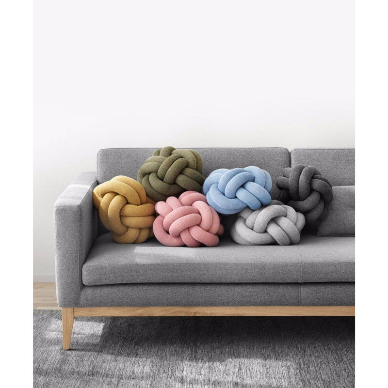 Design House Stockholm Knot cushion, anthracite