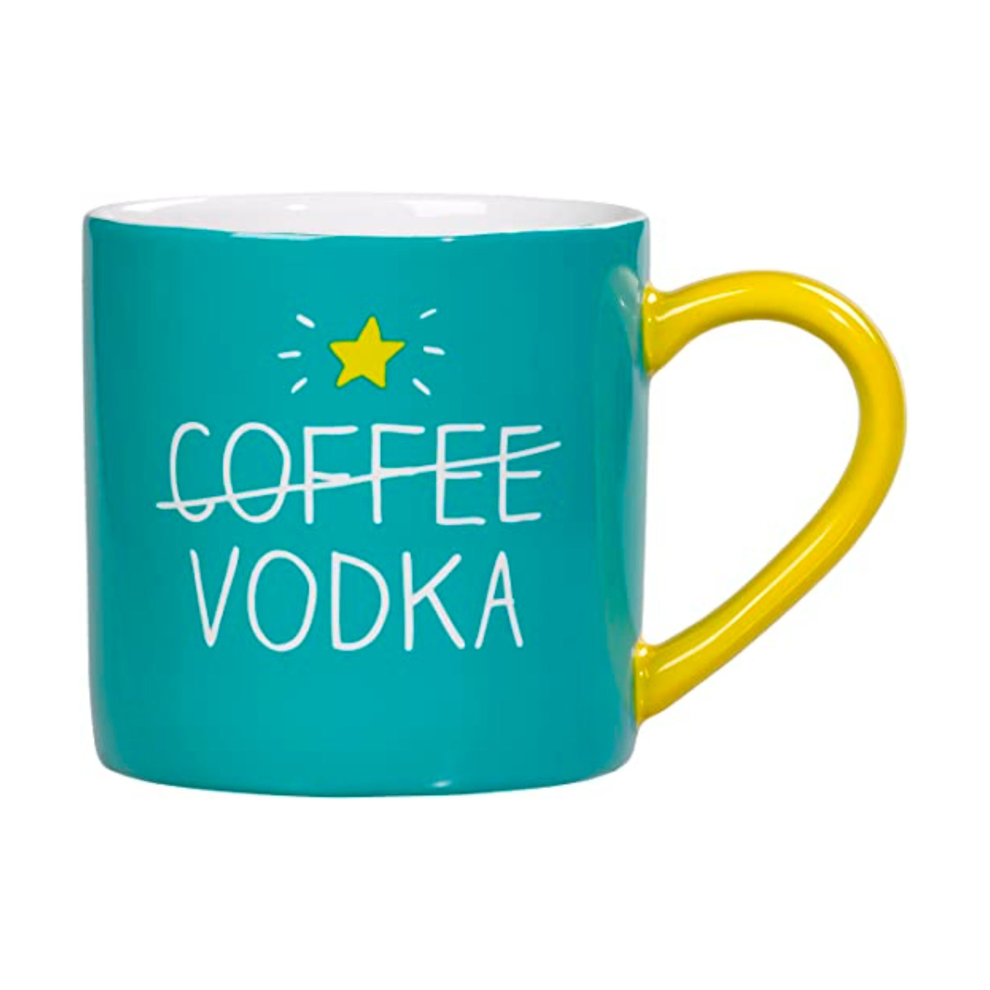 Happy Jackson Mug 'Coffee Vodka'