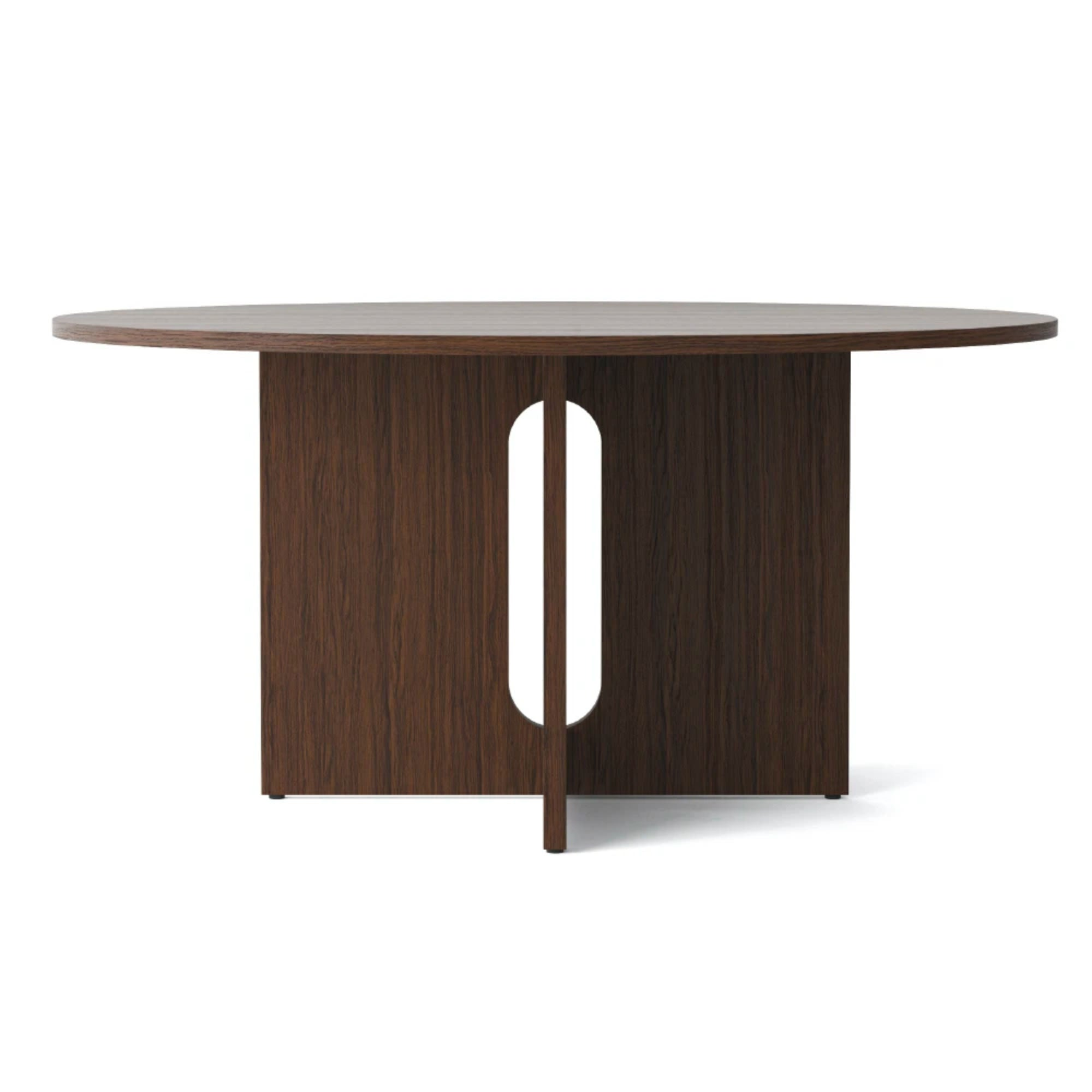 Menu Androgyne Round Dining Table Dia.150cm , Dark Oak