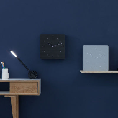 Gingko Analogue Click Wall Clock