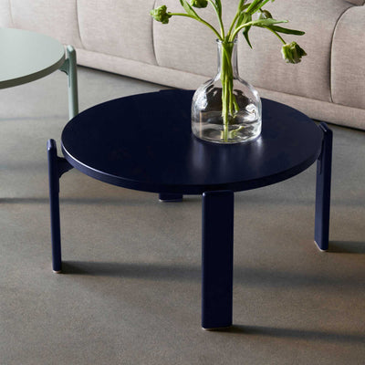 Muuto Around Coffee Table Small Ø45 , Stained Dark Brown