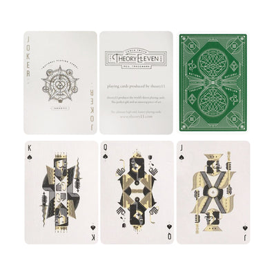 Theory11 Green National Playing Cards