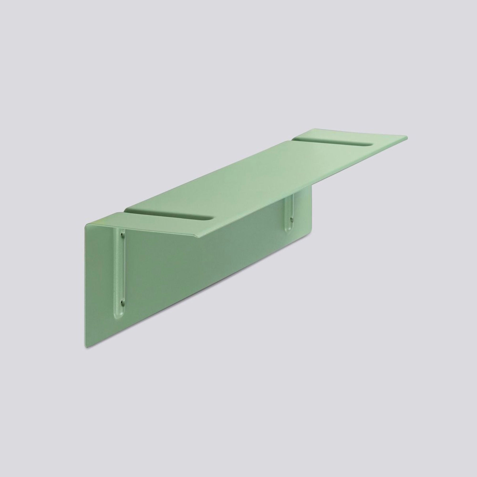 Hay Brackets Incl. Wall Shelf L60 , Dusty Green