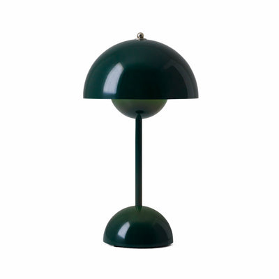 &Tradition VP9 Flowerpot Rechargeable Lamp , Dark Green