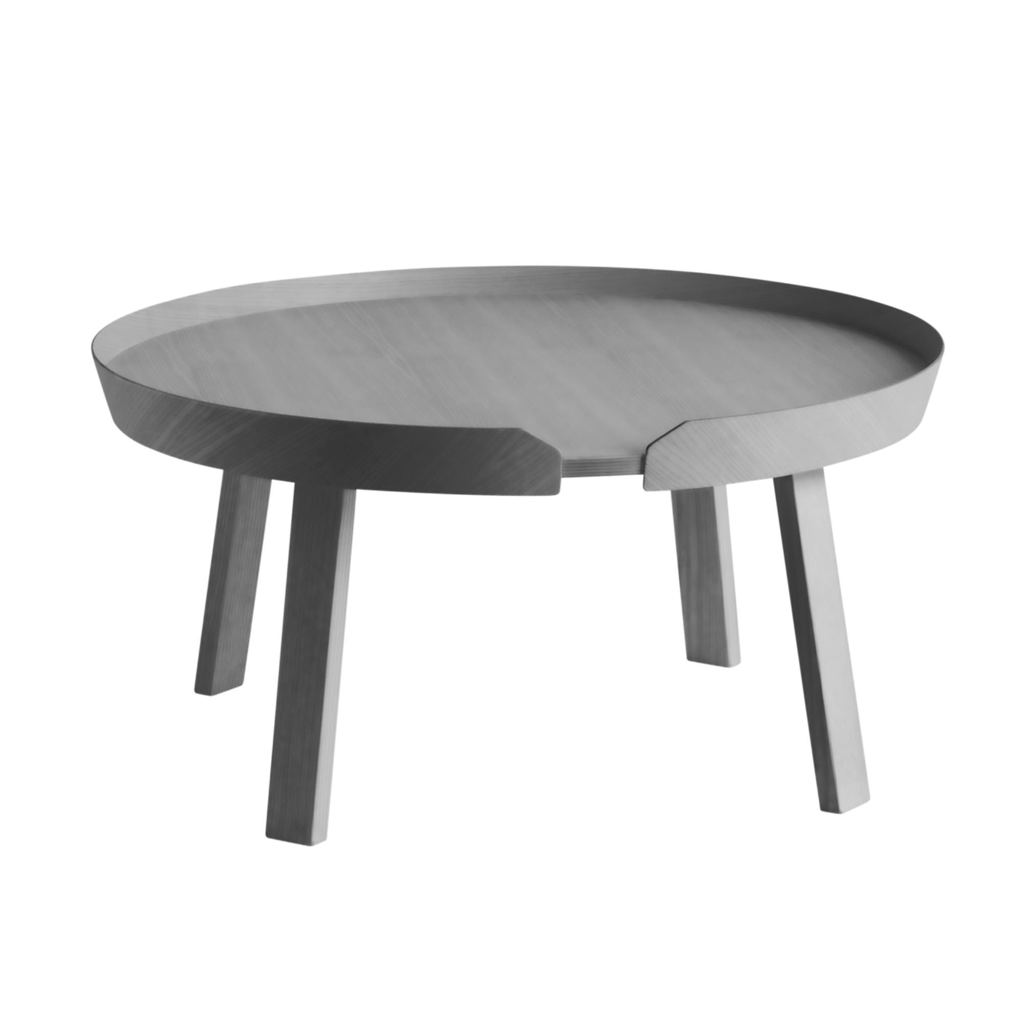 Muuto Around Coffee Table Large Ø72 , Dark Grey