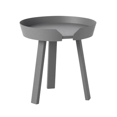 Muuto Around Coffee Table Small Ø45 , Dark Grey