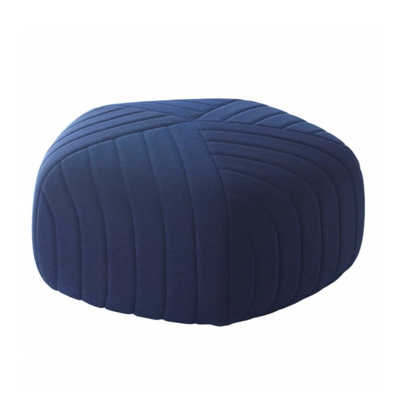 Muuto Five pouf, remix 773, navy blue