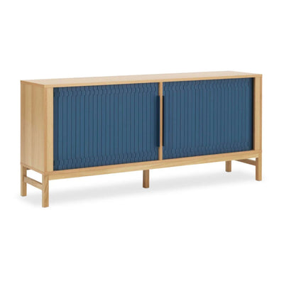 Normann Copenhagen Jalousi sideboard, dark blue