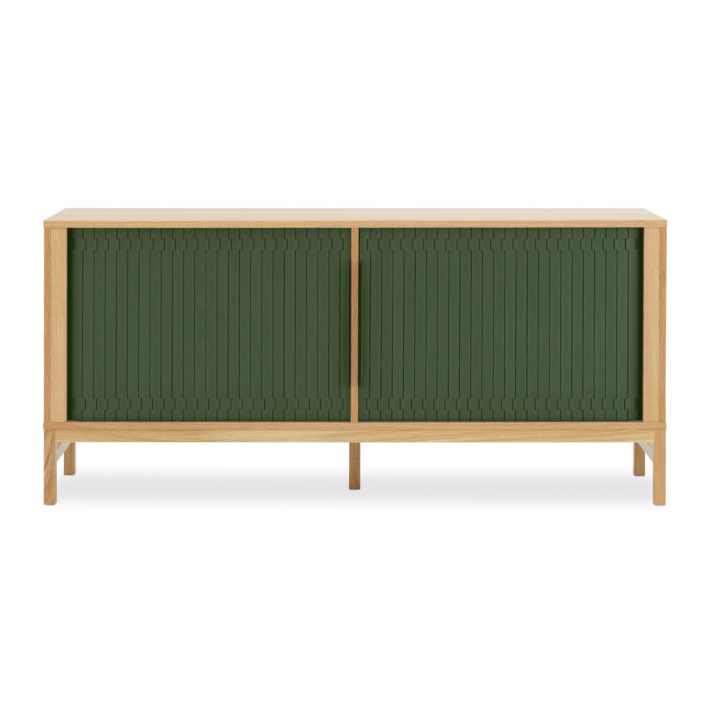 Normann Copenhagen Jalousi sideboard, dark green