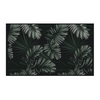Podevache Vinyl floor mat, dark palm leaves (66x99 cm)
