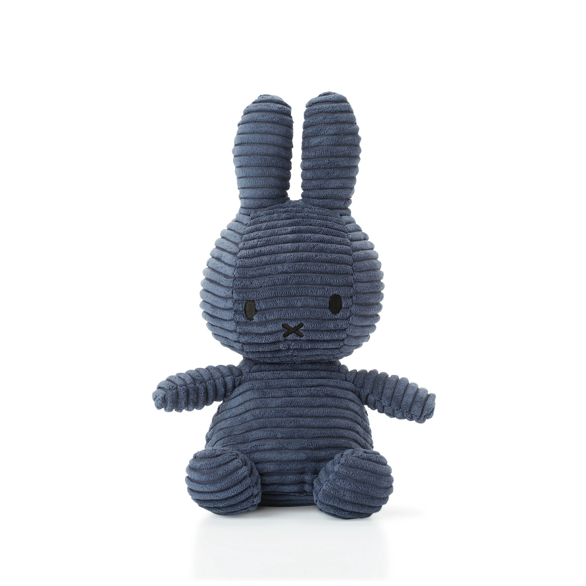 Miffy Sitting Corduroy 23cm, dark blue