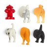 Kikkerland Dog Butt Magnets 6 Per Set